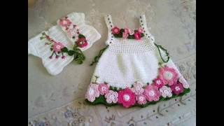Easy Hand-Knitted Patterned Skirt For Girls And Baby Frilly