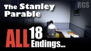 getlinkyoutube.com-The Stanley Parable Gameplay (2013 Remake) - ALL 18 Endings - [HD]
