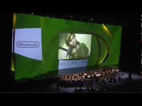 Legend of Zelda: 25th Anniversary Celebration at E3 2011 with Orchestra!