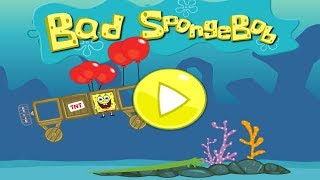 getlinkyoutube.com-Bad SpongeBob Gameplay Trialer - Bad Piggies Game Remake