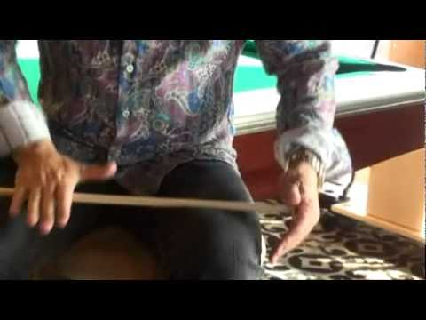 How to shape your  pool cue tip properly. Compliments of Triangle Billiards