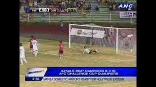 getlinkyoutube.com-Azkals beat Cambodia 8-0 in AFC Challenge Cup Qualifiers