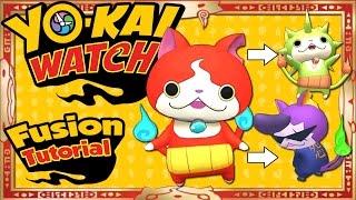 getlinkyoutube.com-Yo-Kai Watch - ALL 27 Yo-Kai Fusions + ALL 16 Item Fusions! [Tips & Tricks]