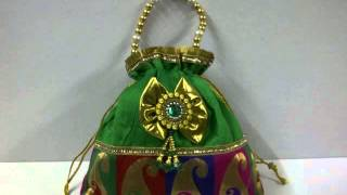 getlinkyoutube.com-new batwas  potli  nags  evening bags  favors  return gifts  hand bags ranjanaarts