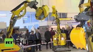 EMERCOM expo showcases advanced robotic rescue-tech in Moscow