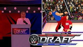 WWE Draft 2018- WR3D