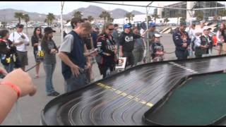 getlinkyoutube.com-Nascar and Slot Car Racing at the Las Vegas Motor Speedway - 3/6/2011