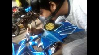 getlinkyoutube.com-Airbrush 007 Bandung
