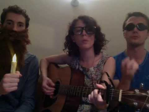 Love Song cover-Three Friends on a Comfy Couch
