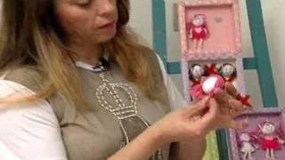 getlinkyoutube.com-Chaveiro bonequinha - Artesanato Manhã Viva