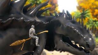 getlinkyoutube.com-Ark Survival Evolved - GIGAZILLA , POOP CREATURES & MAGIC (Ark Modded Survival Gameplay)