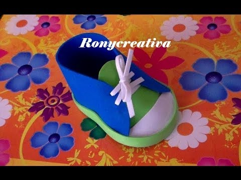 ZAPATITO BABYSHOWER PARA NIÑO / BABYSHOWER SHOE