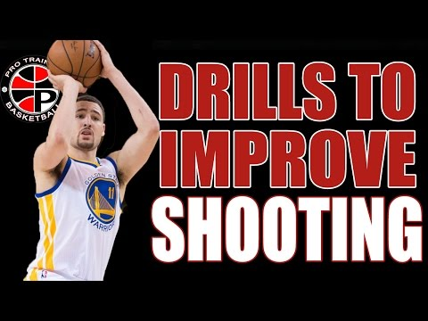 3 Drills to Improve Your Shooting | Improve Your Jump shot | Pro Training Basketball