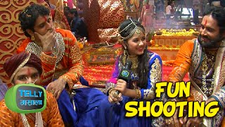 getlinkyoutube.com-Phool And Pratap's Family Enjoying Pratap - Ajabde's Wedding | Behind The Scenes | Maharana Pratap