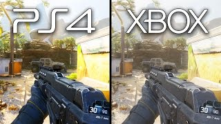 getlinkyoutube.com-Playstation 4 vs Xbox One Black Ops 3 Graphics Comparison (XB1 PS4 Gameplay)