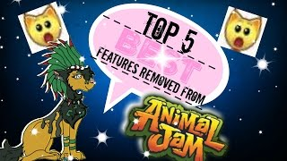 getlinkyoutube.com-TOP 5 BEST FEATURES REMOVED FROM ANIMAL JAM!!