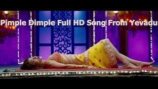 Pimple DimpleFull HD Song From Yevadu    Ram Charan, Allu Arjun, Sruthi Hasan, Etc width=