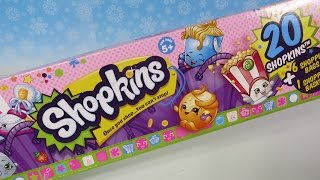 Shopkins 20 Pack Season 2 Two Opening Unboxing Toy Review