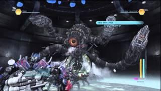 getlinkyoutube.com-Boss Battle-Optimus Prime Vs Shockwave & Driller!