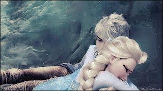 getlinkyoutube.com-the one that i love [ Say something ] ~ Elsa x Jack Frost