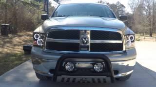 getlinkyoutube.com-Spyder Headlights - Dodge Ram 1500