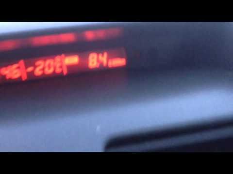 Suzuki SX4 2009 холодный запуск в -20С