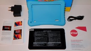 getlinkyoutube.com-Dragon Touch 7 Zoll Kids Tablet - Unboxing, Testbericht, Review und Fazit [german] | Nerdy Testing