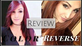 getlinkyoutube.com-Review Color Reverse de Salerm: ¿Quitar el pigmento rojo SIN DECOLORAR tu pelo? | Sandsleek