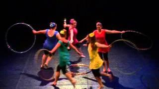 getlinkyoutube.com-Hulahoop group coreography - Csoportos koreográfia hulahopp karikákkal