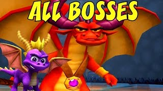 getlinkyoutube.com-Spyro A Hero's Tail - All Bosses (No Damage)