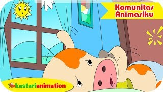 Momo Sakit Gigi | Seri Cerita Momo - Komunitas Animasiku