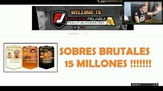 getlinkyoutube.com-15 MILLONES IN A PACK en FIFAJACKPOT !! LEYENDA ASEGURADA | FIFA 15 | DjMaRiiO