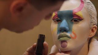 Naked Couture: A Body-Painted Fashion Show