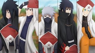 getlinkyoutube.com-Top 8 hokages de la aldea de la hoja
