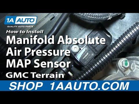 How To Replace MAP Sensor 10-17 GMC Terrain