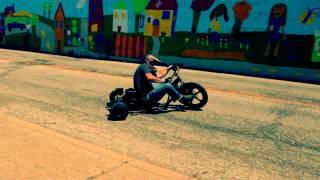 "getlinkyoutube.com-Motorized Drift Trike ""Urban Triking""  Vol. 2"
