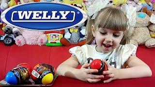 getlinkyoutube.com-Машинки Welly / Welly Cars. Открываем сюрпризы с машинками Велли.