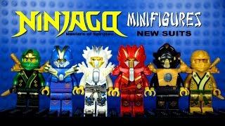 getlinkyoutube.com-LEGO Ninjago New Suits KnockOff Minifigures Set 7 (Bootleg)