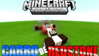 getlinkyoutube.com-CARRO de REDSTONE FUNCIONAL | MINECRAFT PE 0.15.7 | TUTORIAL REDSTONE [AUTOMOVIL]