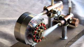 getlinkyoutube.com-Stirling engine type alpha