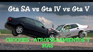 getlinkyoutube.com-Gta San Andreas vs Gta IV vs Gta V