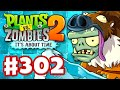 Plants vs. Zombies 2: It's About Time - Gameplay Walkthrough Part 302 - Sloth Gargantuar! (iOS)