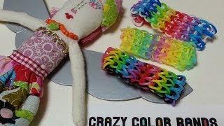 getlinkyoutube.com-crazy color bands ルームバンドの編み方Vol.2 トリプルシングルブレスレットの作り方 ―crazy color bands.com―