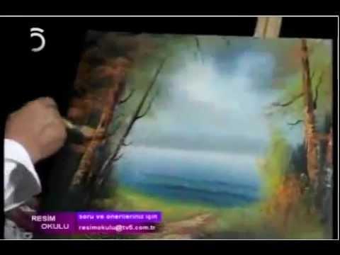 Yağlı Boya Resim Resim Okulu peyzaj part-2