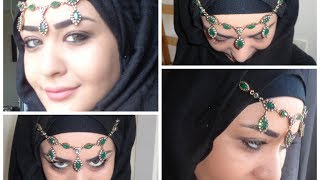 Special Occasion Hijab tutorial - Tutoriel Hijab pour les Occasions Speciales