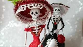 DIY Catrina Dolls Dapper Skeleton