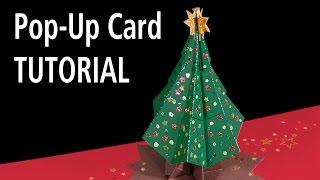 getlinkyoutube.com-Christmas Tree Pop-Up Card Tutorial