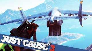 getlinkyoutube.com-BIGGEST PLANE IN JUST CAUSE 3 MADNESS  :: Just Cause 3 PC Gameplay