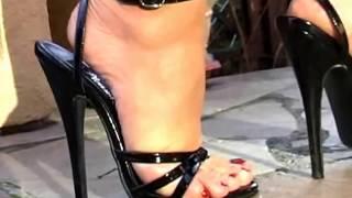 sandalias de tacón negras // yoamolassandalias
