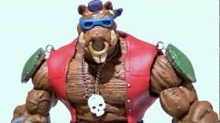 getlinkyoutube.com-Custom BEBOP (TMNT) Marvel Legends Style Action Figure Video Review